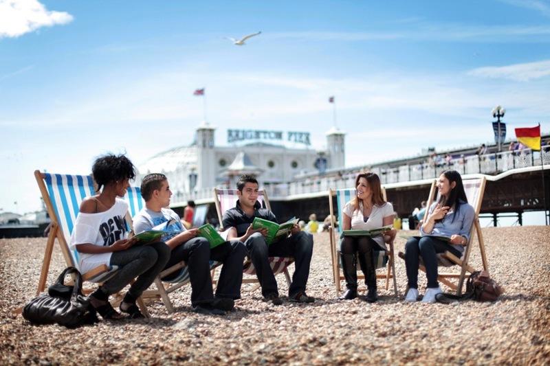 Brighton - kursy językowe - Almatramp